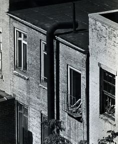 Andre Kertesz Woman on Fire Escape, 1962