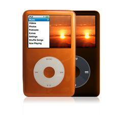 Orange iPod Classic Case