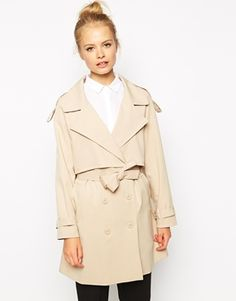 Fashion Union Relaxed Trench, $123.78 Every wardrobe needs a classic trench. This dreamy option is especially swoon-worthy because it pairs a timeless silhouette with a trendy cropped layer.
