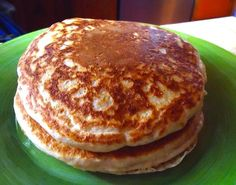 Healthy weekend breakfast recipe: tender, fluffy whole wheat pancakes | The Test Kitchen Blog- BFAST TODAY YA YA