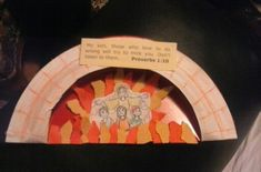 Fun and easy craft for The fiery furnace lesson.