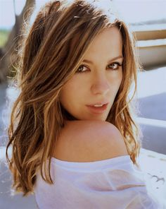 caramel foils | Kate Beckinsale – Photoshoot by Carter Smith