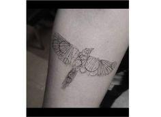 Tatuaż ptaki - urocze wzory tatuażu na ręce, plecy i nogi - Strona 21