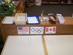 Olympic flag work