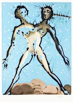 Les signes du zodiaque par Salvador Dali   les 12 signes du zodiaque par salvador dali gemeaux