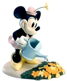Minnie Mouse Artwork WDCC Figurines Classics Collection Minnie's Garden