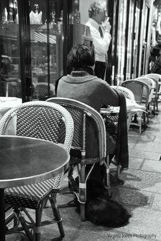 Paris Cafe Culture: Dogs yes...children no!