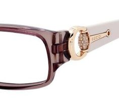 gucci eyeglasses side detail