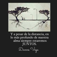 A pesar de la distancia siempre estaremos juntos #amor #distancia