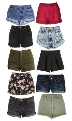 natasha romanoff inspired shorts by natashayoung on Polyvore featuring polyvore fashion style River Island Glamorous Refuge American Eagle Outfitters Topshop Motel clothing