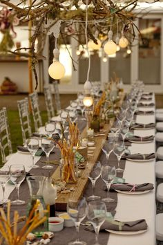 Rustic beach tablescape - Events and Tents  www.eventsandtents.co.za