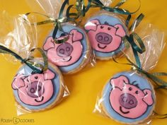 Happy Piglets Cookies from http://polishcookies.blogspot.com/