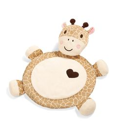 Look at this Summer Infant Giraffe Plush Playmat on #zulily today!