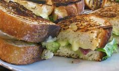 Grilled Cheese with Spring Onions & Escarole. Grilled cheese, stepped up.