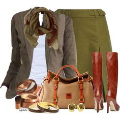 A fashion look from October 2012 featuring Tusnelda Bloch tops, Laura Ashley skirts and Mimco boots. Browse and shop related looks.