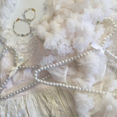 Pearls & Tulle for Mommy & Me Mommy And Me, Pearl Necklace, Fashion Accessories, Tulle, Gems, Pearls, My Style, Jewelry, String Of Pearls