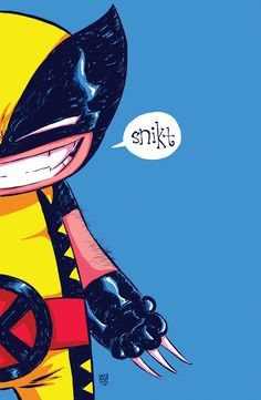 Wolverine by Skottie Young