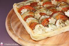 Torta Salata Verdure e Mozzarella