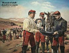 Abrevando al caballo Granaderos en Campaña, Juan Crass Carter American War, South America, Warriors, Chile, Painting, 19th Century, War Of The Pacific, Military History, Memoirs