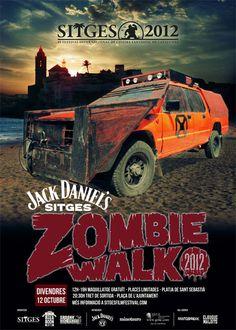 zombie walk  sitges  film festival  jack daniels