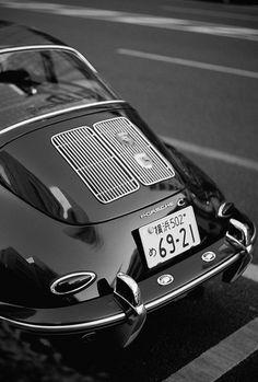 Porsche Noir