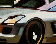 Ihr Lieblingsauto als Gemälde im Stil von Picasso