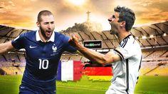 [Highlights WC 2014] Trailer Pháp vs Đức - Tứ Kết WC 2014 - 04/07
