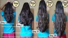 Hair growth hacks hair care tips & tricks every girl should know - yout Hair Mask For Growth, Hair Remedies For Growth, Hair Growth Treatment, Hair Growth Tips, Hair Care Tips, Faster Hair Growth, Hair Growth Shampoo, Hair Treatments, Grow Long Hair