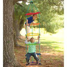 Rainbow Tri-Climber in Outdoor Play Toys