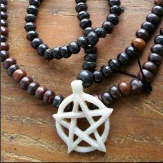 Ancient Sacred Path, sacred path mala, pagan mala, pagan prayer beads, pagan rosary, pagan necklace,  witch necklace, witch mala, witch pray by MagickAlive on Etsy