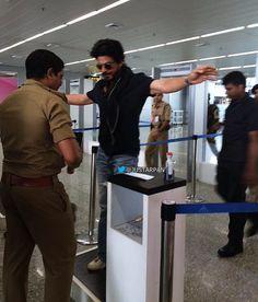 Chennai Airport, 8 May 2016