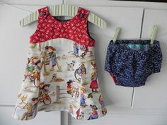 Cowgirl style sundress with matching bloomers  http://www.etsy.com/listing/94025664/cowgirl-style-sundress-with-matching