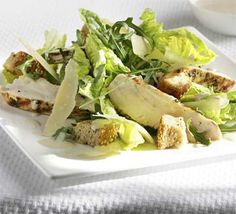 Angela Nilsen has been on a mission to make the not-so-innocent Caesar salad more honest. The result? A healthier and tastier version. So tuck in