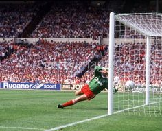 20 May 1989 Grobelaar is beaten as Stuart McCall scores a second in the FA Cup final against Liverpool