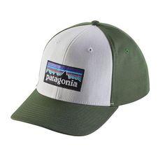 Patagonia P-6 Logo Roger That Hat - White