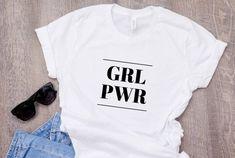Girl power t-shirt Girl power shirt Feminism shirt Feminist Tumblr T-shirt, Girl Power T Shirt, Power Girl, Cool T Shirts, Tee Shirts, Tees, Geile T-shirts, Tee Shirt Designs, Strong Women