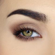 Natural Eye Makeup, Eye Makeup Tips, Smokey Eye Makeup, Eyeshadow Makeup, Beauty Makeup, Makeup Ideas, Makeup Tutorials, Natural Smokey Eye, Simple Eyeshadow