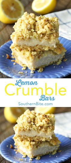 Only 5 ingredients stand between you and these amazingly delicious and super easy Lemon Crumble Bars!
