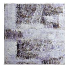 Lavender Story: 40 x 40 Wall Art