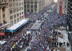 NY Giants celebrating their success!
