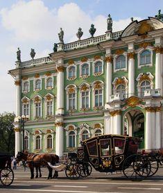 Winter Palace in St Petersburg, Russia #St.Petersburgtravel