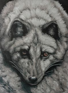 Pro-marker illustration of Arctic Fox.