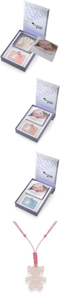 Keepsakes and Baby Announcements 117388: Namuri Pendant - Baby Keepsake Gift - Baby Imprint Material With Real Diamond -> BUY IT NOW ONLY: $99 on eBay!