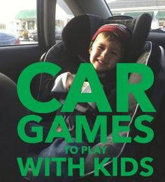 5 Car Games to Play with Kids.