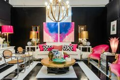 The Pink Pagoda: Leslie Pritchard for Dwell with Dignity + Project Decorate