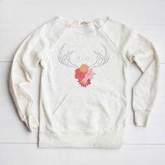 Cozy Antler Sweatshirt