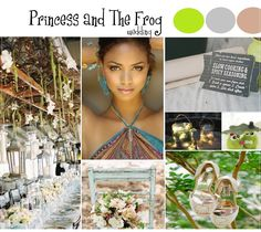 Princess and the frog Disney wedding ideas | Rustic Folk Weddings