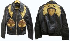Vintage East West Musical Instruments Leather Jacket