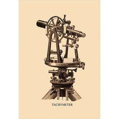 Buyenlarge Tachymeter #1 Graphic Art