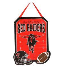 NCAA Team Sports America Door Décor, Texas Tech Red Raiders